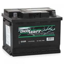 Аккумулятор автомобильный Gigawatt G55R 56А/ч 480A