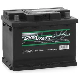 GIGAWATT G62R 60А/ч 540A