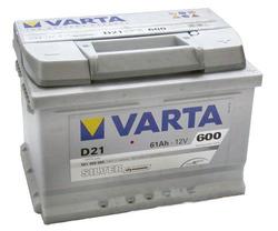 VARTA Silver dynamic -61Ач (D21)  61А/ч  600А
