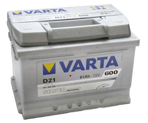 Аккумулятор для легкового автомобиля Varta Silver Dynamic D21 61Ач Об - фото 4