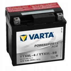 Мото аккумулятор Varta 504012003