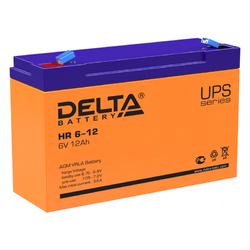 Аккумулятор Delta HR 6-12 (6V / 12Ah)