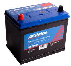 Аккумулятор автомобильный AC Delco 70 Ач 630A прямая полярность