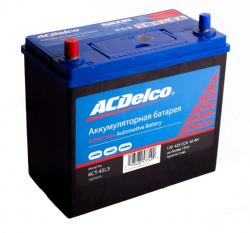 Аккумулятор автомобильный AC Delco 45 Ач 425A прямая полярность