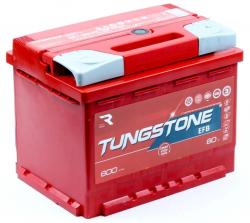 Аккумулятор TUNGSTONE EFB 6СТ-60.0 60 Ач 600A