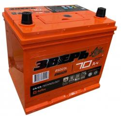 Аккумулятор ЗВЕРЬ Asia 6СТ-70.0 LЗУ (85D23L) 70 Ач 700A
