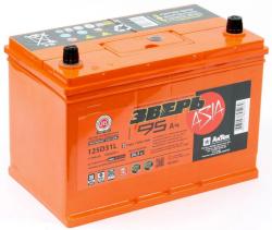 Аккумулятор ЗВЕРЬ Asia 6СТ-95.0 LЗУ (125D31L) 95 Ач 930A