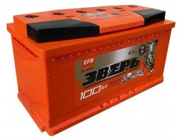 Аккумулятор ЗВЕРЬ EFB 6СТ-100.0 L3У 100 Ач 960A