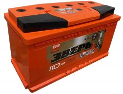 Аккумулятор ЗВЕРЬ EFB 6СТ-110.0 L3У 110 Ач 970A