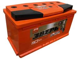 Аккумулятор ЗВЕРЬ EFB 6СТ-110.1 L3У 110 Ач 970A