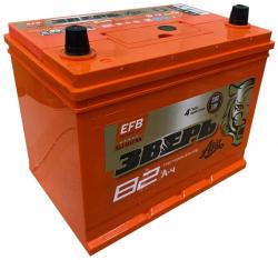 Аккумулятор ЗВЕРЬ EFB Asia 6СТ-82.0 LЗУ (110D26L) 82 Ач 770A