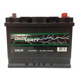 Аккумулятор автомобильный Gigawatt G68JR 68А/ч 550A