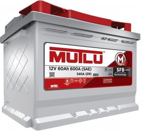 Аккумулятор Mutlu 60 а/ч, LB2.60.054.A в СПб