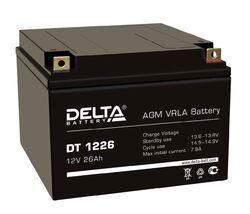 Аккумулятор Delta DT 1226 (12V / 26Ah)