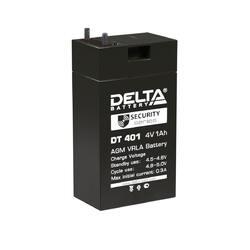 Аккумулятор Delta DT 401 (4V / 1Ah)