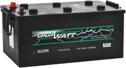 Аккумулятор грузовой Gigawatt G225R 225А/ч 1150A