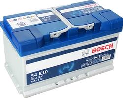 EFB Аккумулятор автомобильный Bosch S4 e10 75 а/ч 0092S4E100