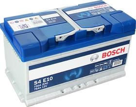 EFB аккумулятор bosch S4 e10 75 а/ч 0092S4E100