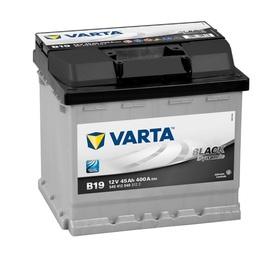 Аккумулятор автомобильный Varta black dynamic B19 (545412040)