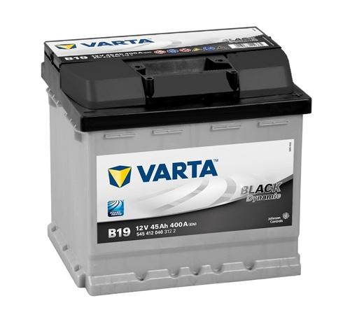 Аккумулятор Varta black dynamic B19 (545412040)