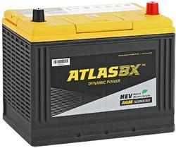 ATLAS S65D26L 75А/ч 750А  AGM Start-Stop