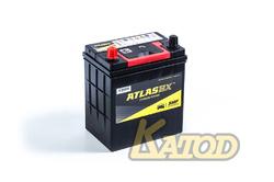 Аккумулятор автомобильный Atlas SMF46B19R 44 А/ч 400А