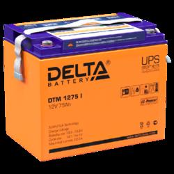 Аккумулятор Delta DTM 1275 i (12V / 75Ah)