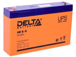 Аккумулятор Delta HR 6-9 (6V / 9Ah)