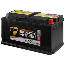 Аккумулятор автомобильный Black Horse 100А/ч 800А