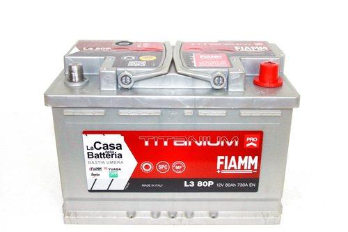 Аккумулятор FIAMM TITANIUM PRO L380P
