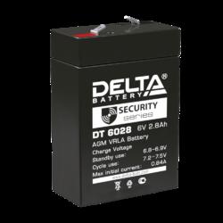Аккумулятор Delta DT 6028 (6V / 2.8Ah)