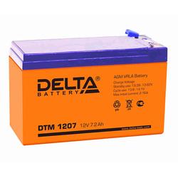 Аккумулятор Delta DTM 1207 (12V / 7.2Ah)