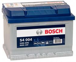 Аккумулятор автомобильный Bosch S4 004 60 а/ч 0092S40040