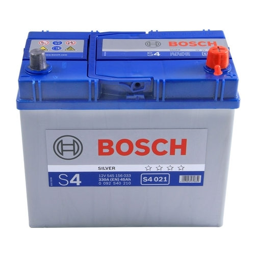 BOSCH S4 021 Silver 45А/ч  330А