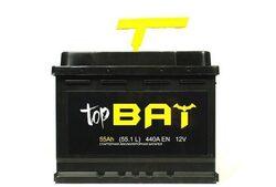 Аккумулятор автомобильный BAT 55ah 6СТ-55.1 L