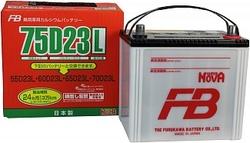 Аккумулятор автомобильный FB Super Nova 75D23L