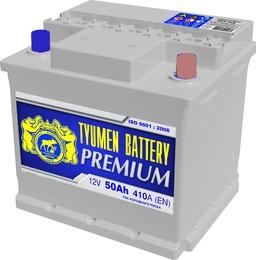Аккумулятор автомобильный Тюмень PREMIUM 50 а/ч о.п. 6СТ-50