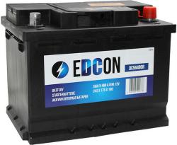 Аккумулятор автомобильный EDCON 56 а/ч 480A (DC56480R)