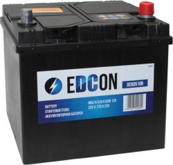 Аккумулятор автомобильный EDCON 60 а/ч 510A (DC60510R)