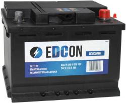 Аккумулятор автомобильный EDCON 60 а/ч 540A (DC60540R)