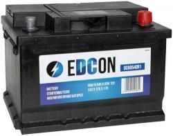 Аккумулятор автомобильный EDCON 60 а/ч 540A (DC60540R1)
