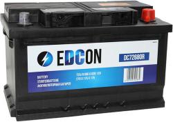 Аккумулятор автомобильный EDCON 72 а/ч 680A (DC72680R)