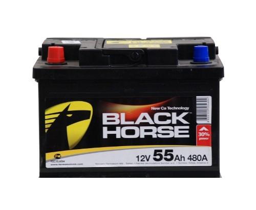 Black Horse 55А/ч 480А