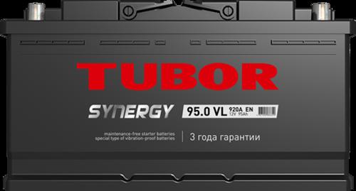 Аккумулятор TUBOR SYNERGY 95ah, 6СТ-95.0 VL
