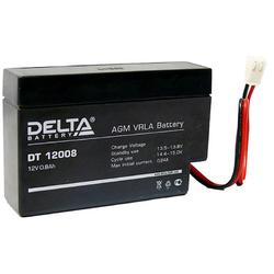 Аккумулятор Delta DT 12008 (T9) (12V / 0.8Ah)