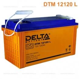 Аккумулятор Delta DTM 12120 L (12V / 120Ah)