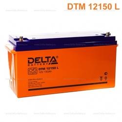 Аккумулятор Delta DTM 12150 L (12V / 150Ah)