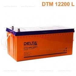 Аккумулятор Delta DTM 12200 L (12V / 200Ah)