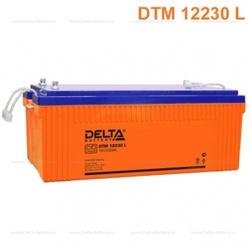 Аккумулятор Delta DTM 12230 L (12V / 230Ah)