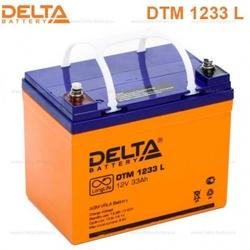 Аккумулятор Delta DTM 1233 L (12V / 33Ah)